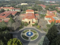 At Stanford University - View from Hoover Tower