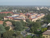 At Stanford University - View from Hoover Tower 2