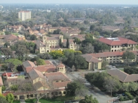 At Stanford University - View from Hoover Tower 3