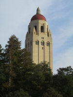 At Stanford University - Hoover Tower