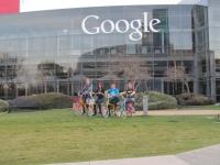 Google Headquarters Biking