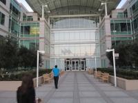 Apple Headquarters - missing silver apple