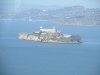 View from the Coit Tower - Alcatraz